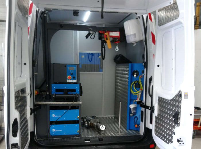 Renault Master ITV Hydrovideo